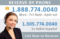 Call Now to Reserve!
